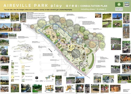 Aireville Park play area plans