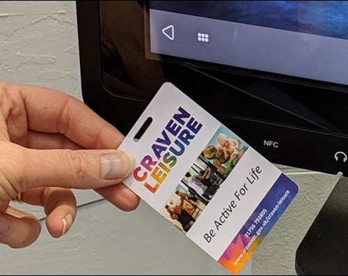 Craven Leisure contactless card
