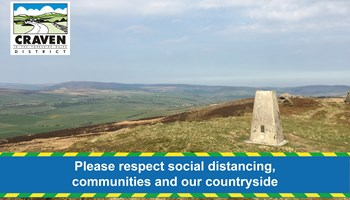 Respect social distancing, communities and the countryside in Craven